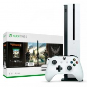 Microsoft Xbox One S 1Tb Белый (Tom Clancys The Division 2)