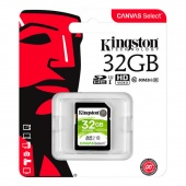 Kingston Canvas Select SDXC 32Gb класс 10, UHS-I