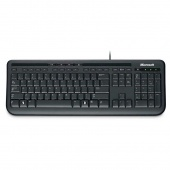 Microsoft Wired Keyboard 600 Черный