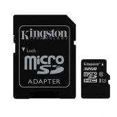 Kingston Canvas Select microSD 256Gb класс 10 UHS-I + SD адаптер