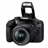 Canon EOS 2000D Kit 18-55mm IS Черный