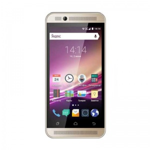 Смартфоны Vertex Impress U Too Gold