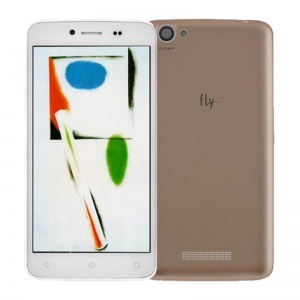 Смартфоны Fly FS505 Nimbus 7 White/Gold