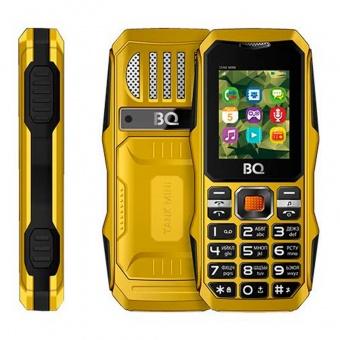 Купить мобильные телефоны  bq bq-1842 tank mini желтый в интернет-магазине TopMag по выгодной цене с доставкой г. Москва - обзор, отзывы, фото