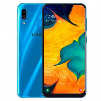 Смартфоны Samsung Galaxy A30 32Gb Синий