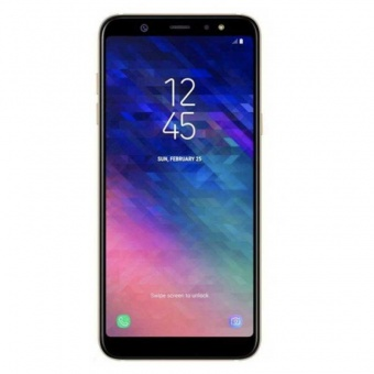 Смартфоны Samsung Galaxy A6 2018 Gold