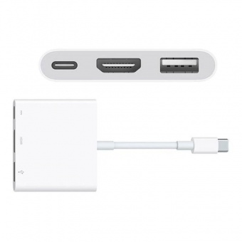 Apple USB-C Digital AV Multiport Белый