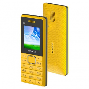 Maxvi C9 Yellow-Black
