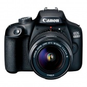 Canon EOS 4000D Kit 18-55mm III Черный
